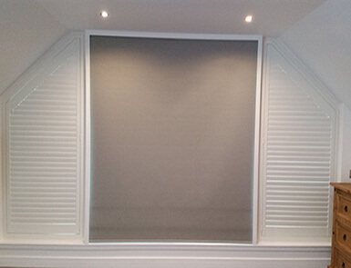 Discovery Blinds and Shutters Wooden Shutters and roller blinds image