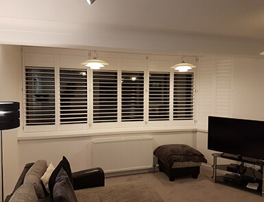Discovery Blinds and Shutters White Shutters