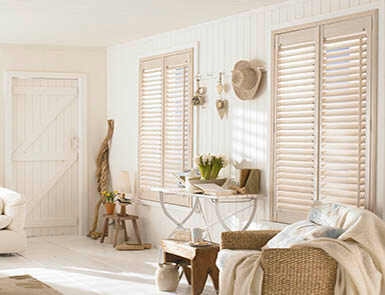 Discovery Blinds and Shutters Wooden Beach Hut Shutters