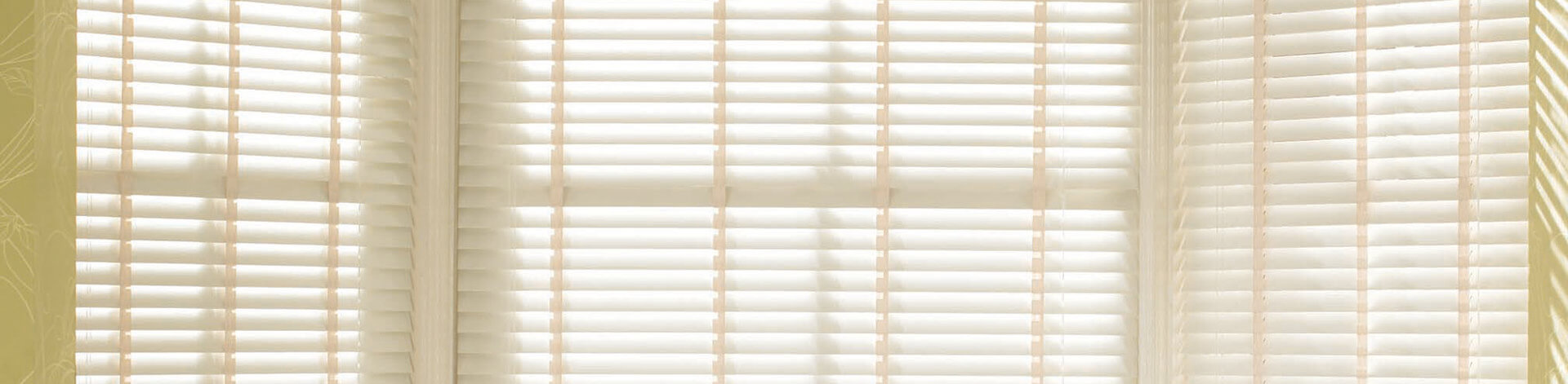 Discovery Blinds and Shutters Wooden Venetian Blinds - Sherwood Chalk White